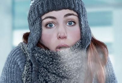 الشعور بالبرد ينتقل بالعدوى