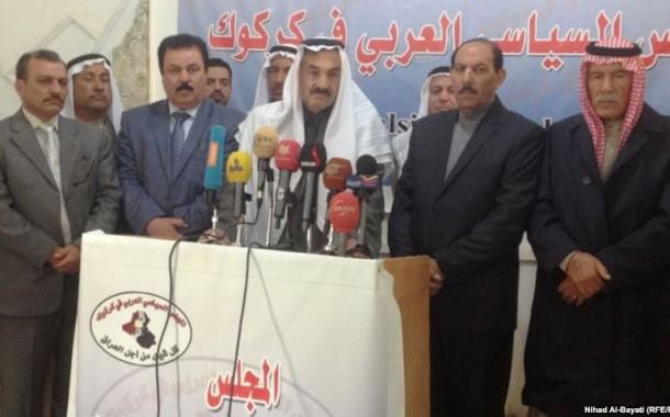 رئيس المجلس السياسي العربي في كركوك عبد الرحمن المنشد: العرب يتعرضون للابادة على يد الحزبين الكرديين