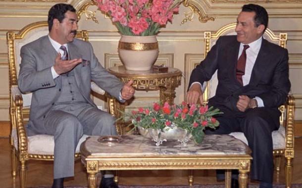 """التسجيلات السرية لصدام حسين ج-2 : حسني مبارك """"شرّير"""" ونتوقع """"أي شيء"""" من القذافي"""