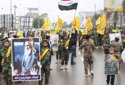 حزب الله العراقي يعلن مشاركته في معارك الرمادي