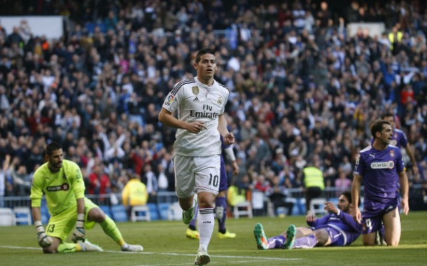 ريال مدريد يعود للانتصارات في 2015 على حساب اسبانيول في اسبانيا