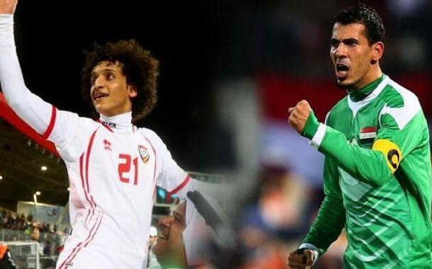 العراق والامارات مباراة مر عليها ثلاث سنوات ... !!