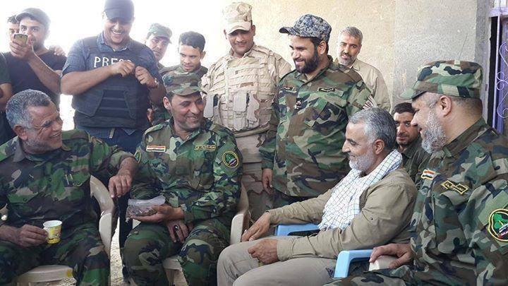 أنباء عن إصابة قاسم سليماني قرب سامراء