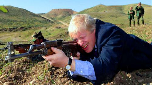 عمدة لندن يتجول في أسواق أربيل .. ويواجه داعش!