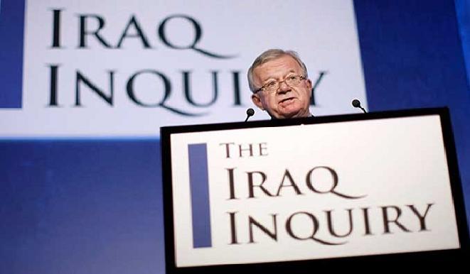 تقرير شيلكوت عن غزو العراق يهدد بلير وكاميرون والتحالف الدولي