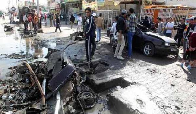 اصابة جندي بالفوج الرئاسي بانفجار لاصقة جنوبي بغداد