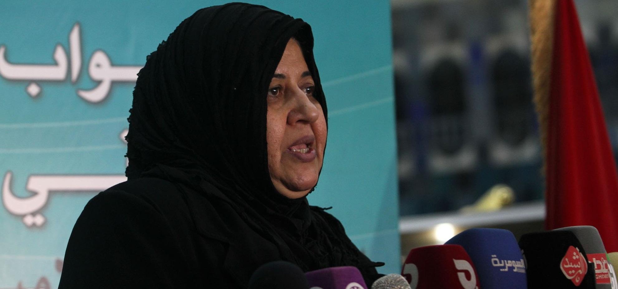 شرطة ديالى تتهم زوج شقيقة النائبة ناهدة الدايني