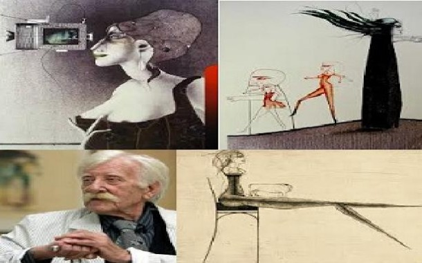 بول فندرليتش رائد فن الغرافيك والرسم السيريالي