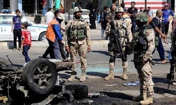 مقتل واصابة 10 مدنيين بتفجير قرب محال تجارية وسط بغداد