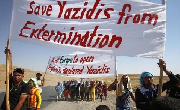 العثور على مقبرة جماعية تضم 25 جثة لإيزيديين