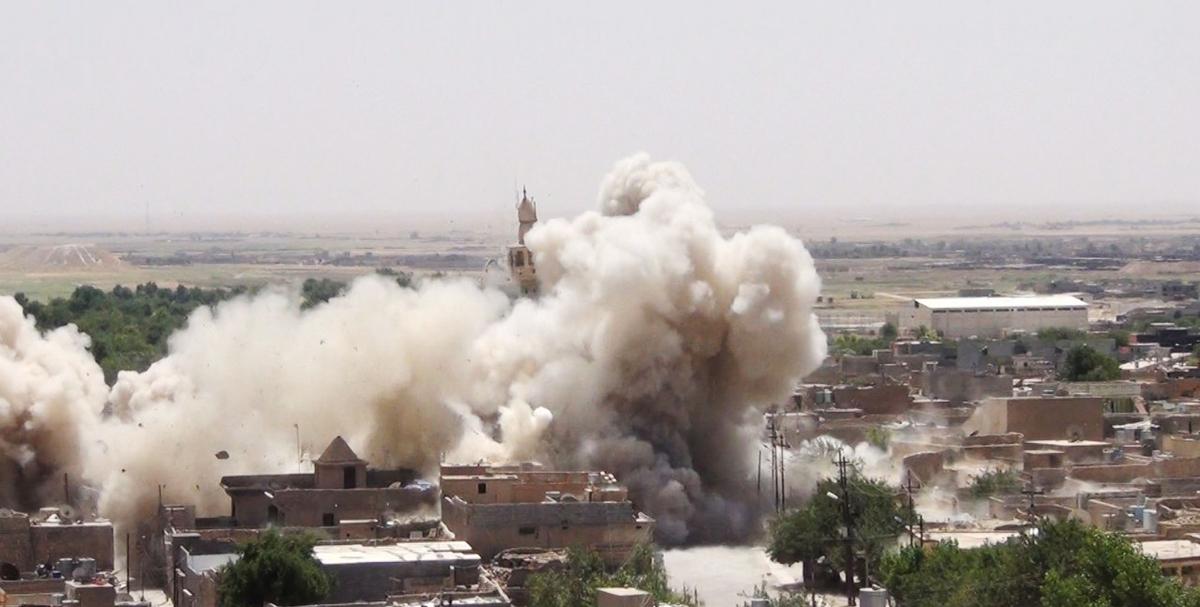 داعش يفجر كنيسة في الموصل يعود تاريخها للقرن العاشر