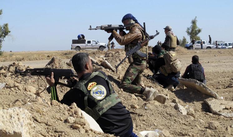 """19 قتيلا من القوات العراقية في معارك مع """"داعش"""" بتكريت ومحيطها"""