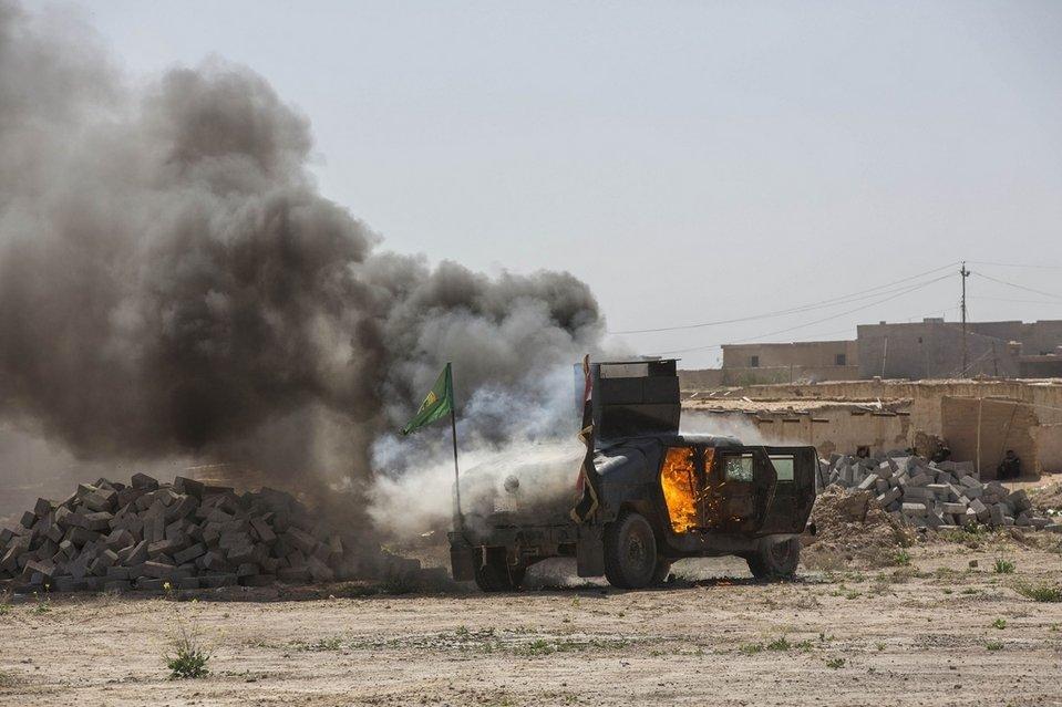 مؤشرات على توقف الهجوم العراقي لطرد داعش من تكريت