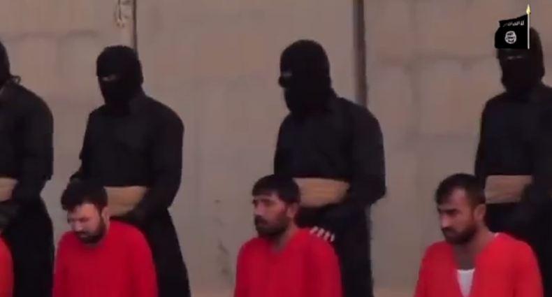 داعش ينحر ثلاثة من عناصر البيشمركة