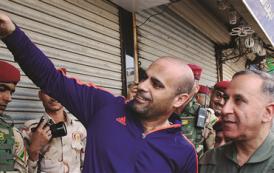 سيلفي حربي … وزير الدفاع العراقي