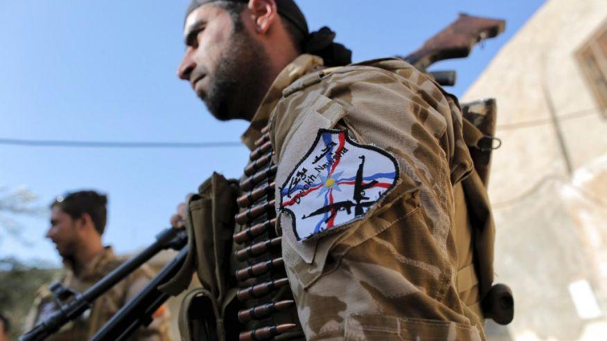 البيشمركة تدرب مليشيات مسيحية على قتال داعش