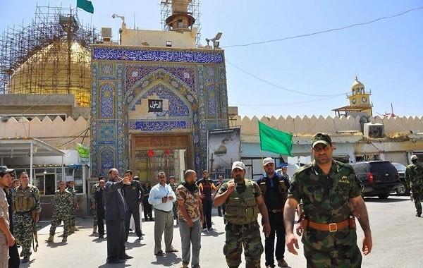 مشادة كلامية بين حركة الجهاد وسرايا السلام قرب مرقد الامامين بسامراء