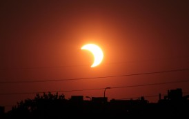 كسوف الشمس في بغداد