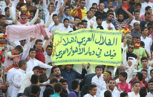 الامن الإيراني يقتل شابا ويعتقل أهوازيين شجعوا الهلال السعودي