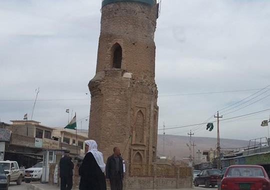 داعش يفجر منارة سنجار التاريخية ودور المدينة