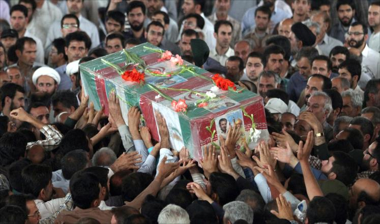 مقتل عنصرين من الحرس الثوري في قصف لطائرة أمريكية في العراق