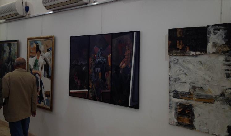 قاعات الفن التشكيلي في بغداد ضحية غياب الاستقرار