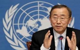 بان كي مون: المفاوضات هي الحل الامثل حتى لا يطول صراع اليمن