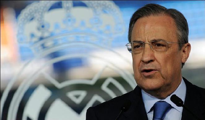 رئيس ريال مدريد يتوعد أوروبا بلسان رونالدو ويدافع عن بيل