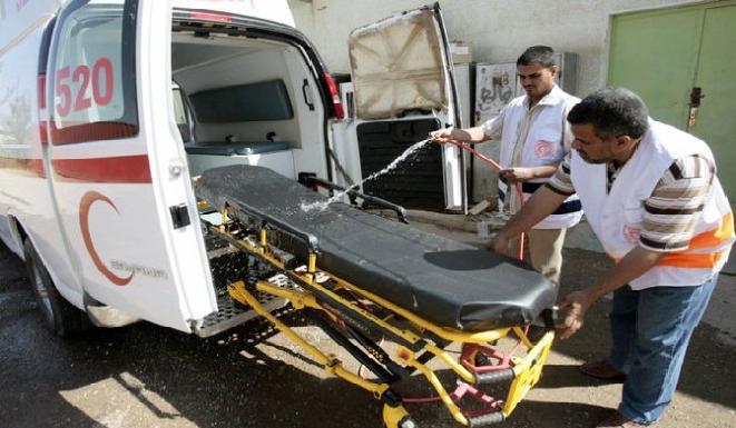 مقتل واصابة تسعة اشخاص بانفجار عبوة قرب سوق غربي بغداد