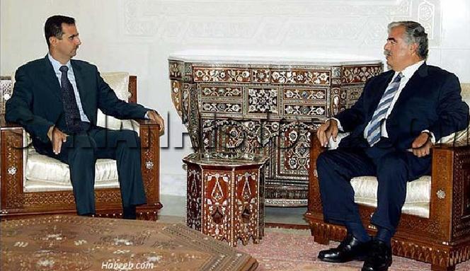 الحريري بعد لقائه الأسد أول مرة: سيحكم سوريا ولد