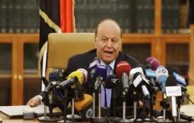 الرئيس اليمني يدعو لاستمرار عملية عاصفة الحزم