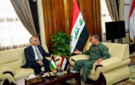 وزير الدفاع : القضية الفلسطينية كانت ولا زالت وستبقى هي الهدف الأسمى للعراق والأمة العربية