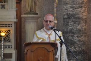 البطريرك لويس ساكو خلال الاحتفالية