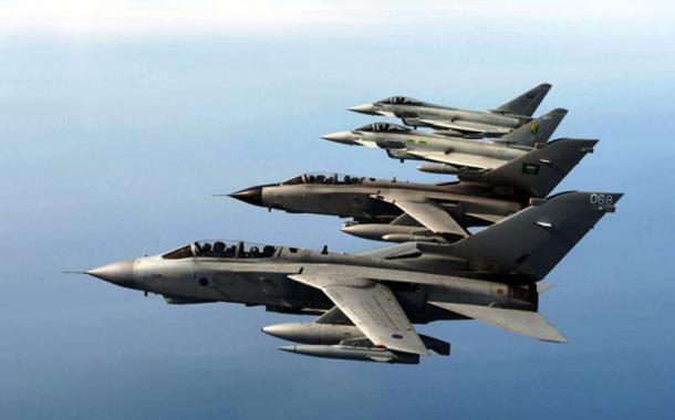 التحالف الدولي يشن 19 ضربة جوية حول مدينة الرمادي