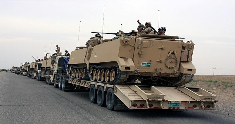 تعزيزات عسكرية وقتالية تصل لمحيط الفلوجة