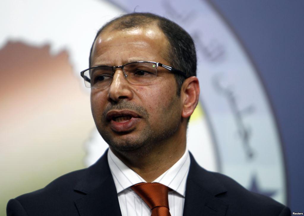 60 نائبا يستعدون لاعلان تحالف يمثل المكون السني وتنحية سليم الجبوري عن رئاسة البرلمان