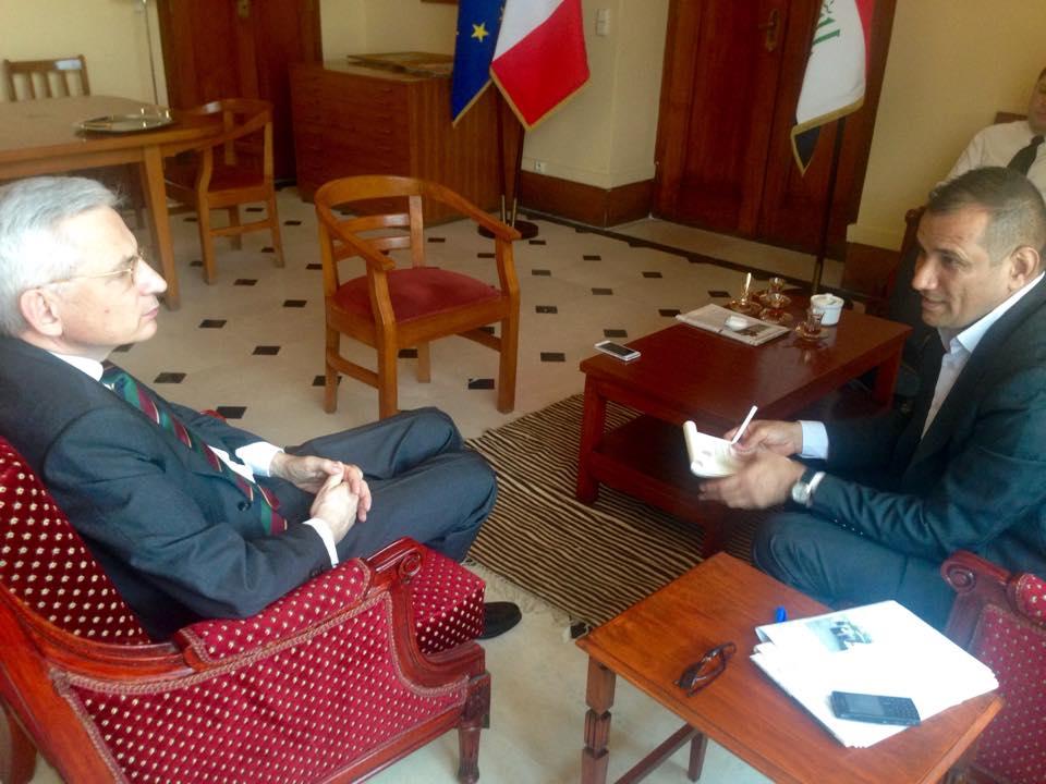 السفير الفرنسي في بغداد لـ