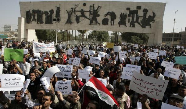 المحتجون يعلنون كامل مطاليبهم .. والداخلية تحذرهم من حمل ألاسلحة