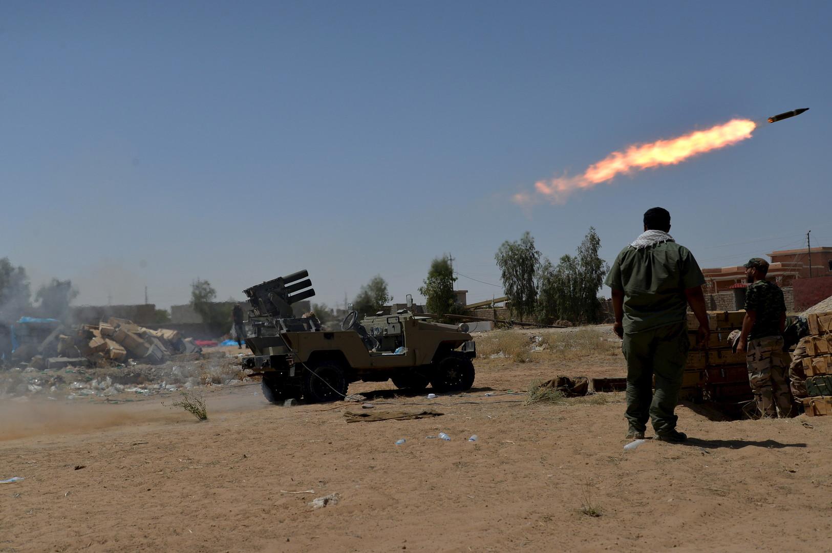 معارك مخمور تثير المخاوف بشان قدرة الجيش العراقي على تحرير الموصل
