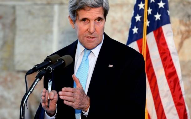 كيري: العراق لم يطلب زيادة القوات الامريكية ونريد حكومة تحقق الاستقرار السياسي