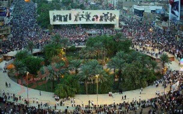 محتجو بغداد يلوحون بإمكانية العودة أمام المنطقة الخضراء