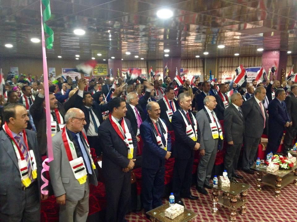 اتحاد عمال العراق يحتفل بالعيد العالمي:وحدة العمال تحدت المحاصصة والتطرف
