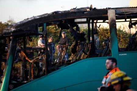 20 جريحا في انفجار قنبلة بحافلة بالقدس