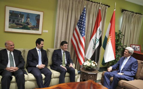خفايا ما دار بين وزير الخارجية الأمريكي ونيجرفان البارزاني
