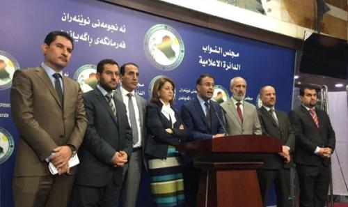 الكتل الكردية ترفض العودة الى بغداد بعد اقتحام البرلمان