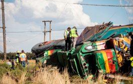 جنوب إفريقيا..حادث قطار مروّع