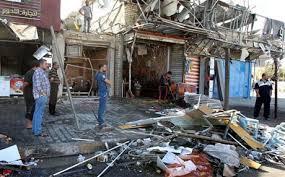 إصابة ثلاثة اشخاص بتفجير قرب سوق شعبية جنوبي بغداد