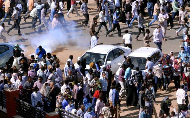 قوات الأمن السودانية تطلق الغاز المسيل للدموع على محتجين في بورسودان