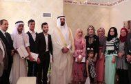 الشيخ عبد الله الياور شيخ قبيلة شمر يقيم احتفالية لتكريم الطلاب الاوائل في نينوى
