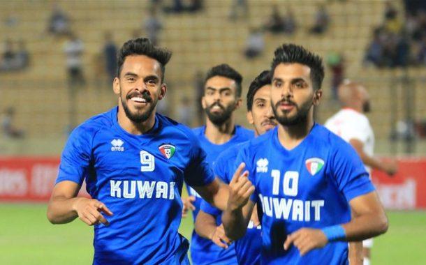 التعادل الايجابي يحسم مواجهة الكويت والاردن في غرب اسيا